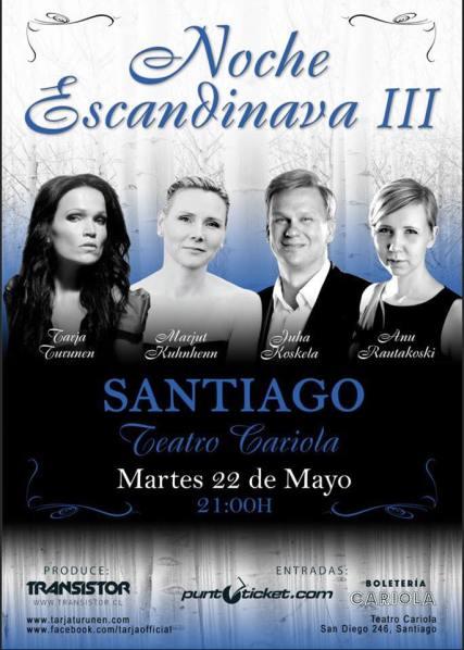NOCHE ESCANDINAVA SANTIAGO DE CHILE