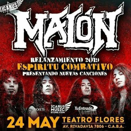 MALON 24 MAYO