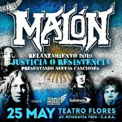 MALON 25 MAYO