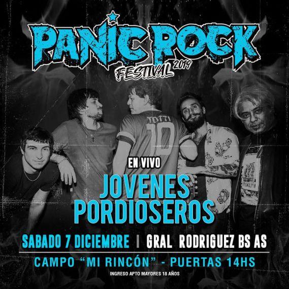 PANIC JOVENES PORDIOSEROS
