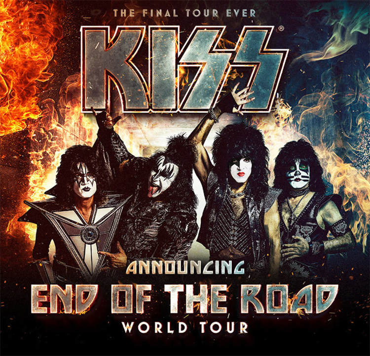 KISS - End of the road