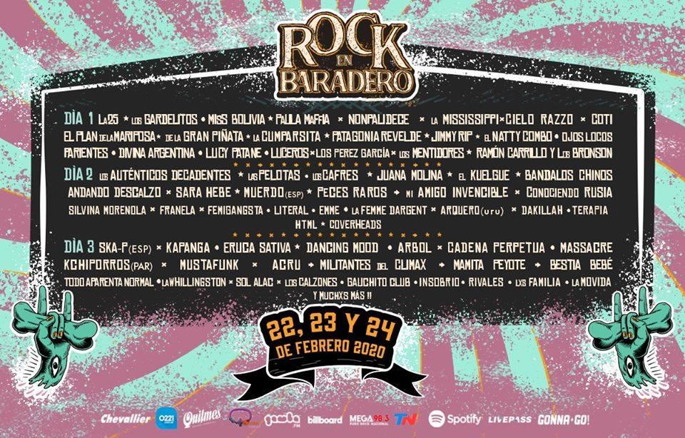 El 22, 23 y 24 de febrero llega la sexta edición del festival de rock más grande de la provincia de Buenos Aires.